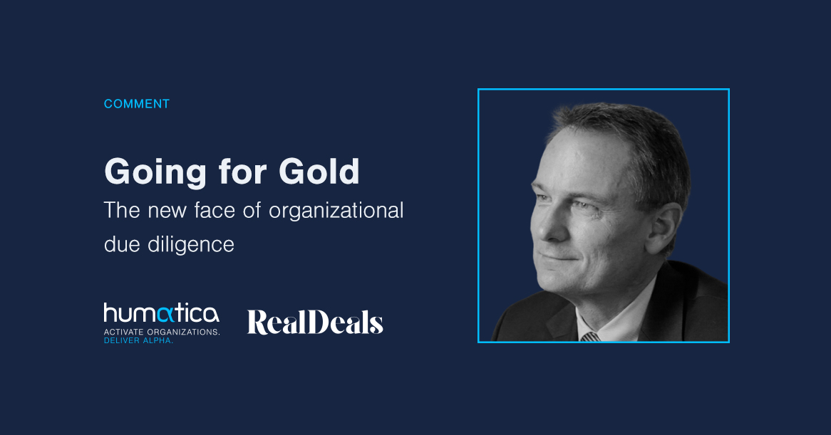 Going for gold – The new face of organizational due diligence
