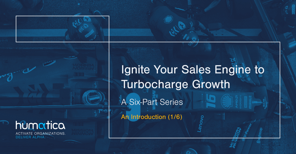 Ignite Your Sales Engine to Turbocharge Growth – An Introduction (1/6)