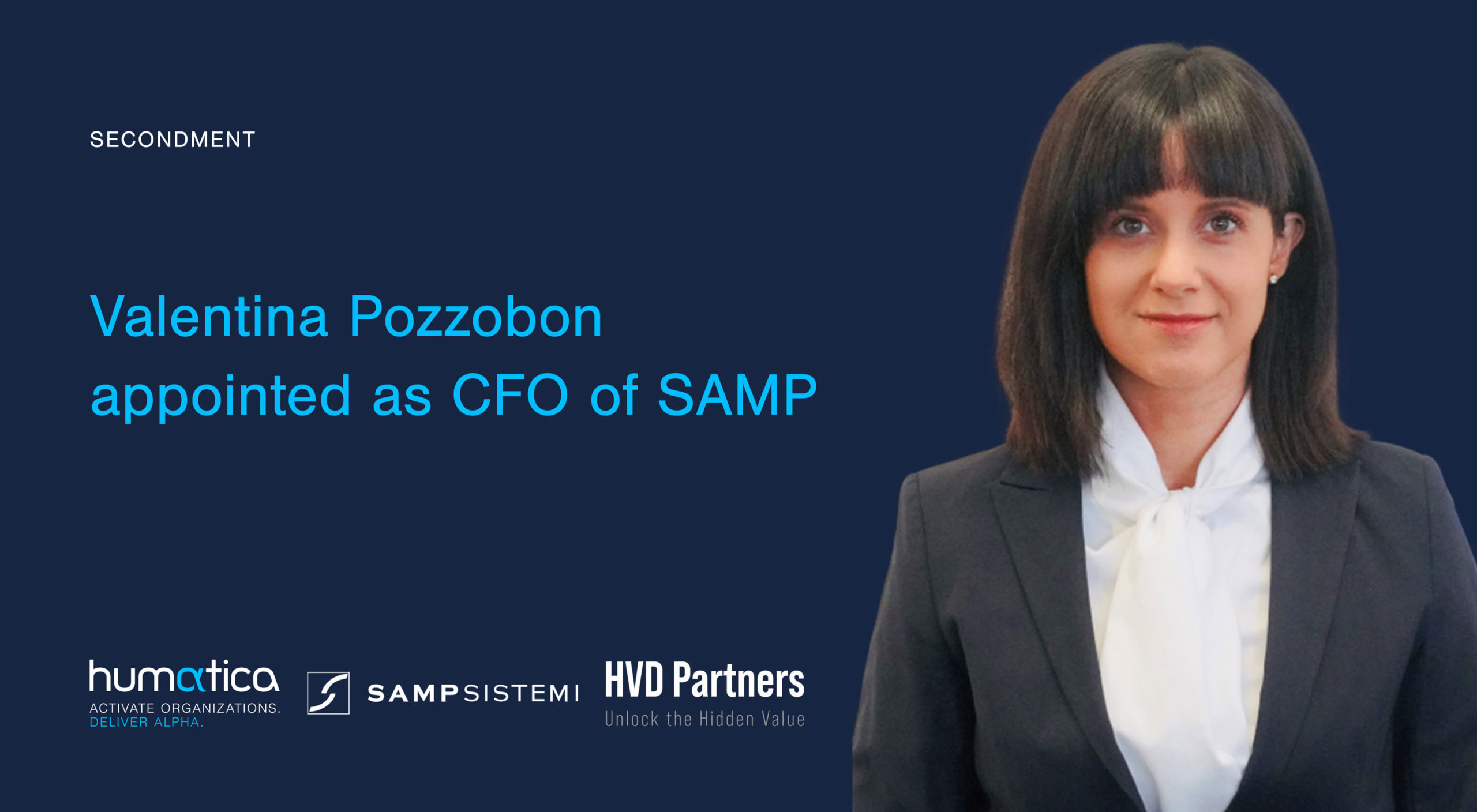 Valentina Pozzobon appointed as CFO of SAMP